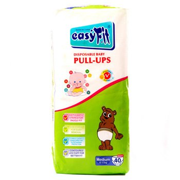 Baby Pull Ups - Medium <br>40 Pieces/Pack
