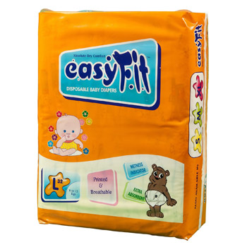Baby Diaper - Large <br>32 Pieces/Pack