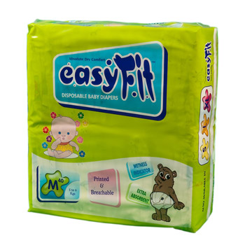 Baby Diaper - Medium <br>40 Pieces/Pack