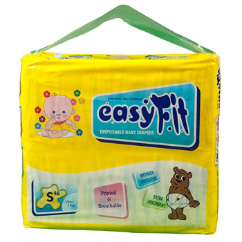 Baby Diaper - Small <br>48 Pieces/Pack